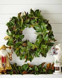 magnolia leaf wreath jim marvin magnolia leaf wreath neiman