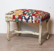 furniture kilim ottoman leather storage ottomans sale round
