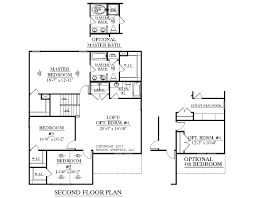 2 car garage sq ft house plan 2239 a magnolia 2nd floor 2239 square feet 35 u0027 0