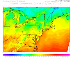 Current Temperature Map Hourly Mesoscale Analysis Of Conventional And Derived Weather Data