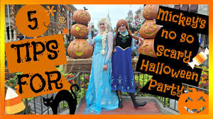 5 tips for mickey u0027s not so scary halloween party youtube