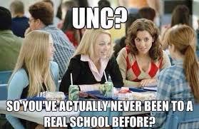 Unc Basketball Meme - unc memes catsillustrated com