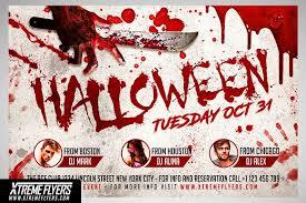 Halloween Flyer Template Flyer Templates Creative Market