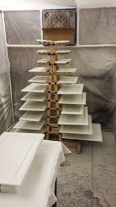 paint drying rack for cabinet doors a quick and simple drying rack for when painting a lot of things at