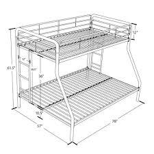 Sturdy Metal Bunk Beds Dorel Metal Bunk Bed Colors Walmart