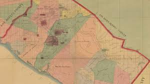 County Map California Metal Detecting In Orange County California 1889 Map