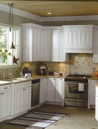 backsplash tiles for kitchen geometric shape fruits mural stone