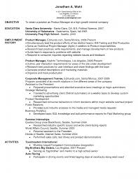 Music Manager Resume Line Manager Cover Letter With Regard To Product Manager Cover