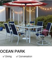 Patio Umbrella Table And Chairs Shop Outdoor Patio Furniture Collections With Lowe U0027s