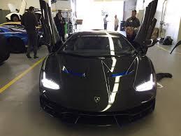 is lamborghini a german car lamborghini centenario in the u s arrives at newport