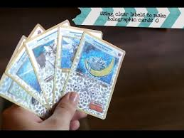let s make holographic collector cards