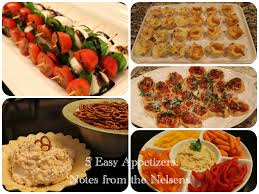 Easy Appetizers by Notes From The Nelsens 5 Easy And Delicious Appetizers