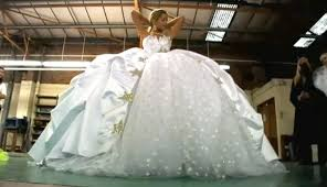 gypsy wedding dresses photos u0026 video of impressively big wedding