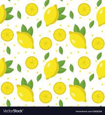seamless lemon pattern lemon seamless pattern lemonade endless royalty free vector