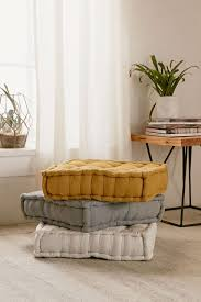 tufted corduroy floor pillow floor pillows urban outfitters and