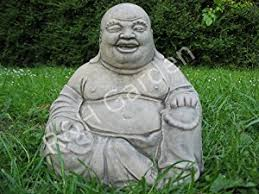 large laughing buddha garden ornament wash effect free