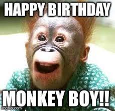 Meme Monkey - happy monkey happy birthday meme generator imgflip