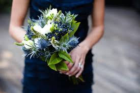 Blue Wedding Bouquets Blue Flowers For Wedding