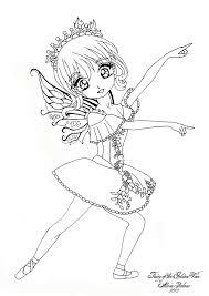 anime fairy coloring pages 11104