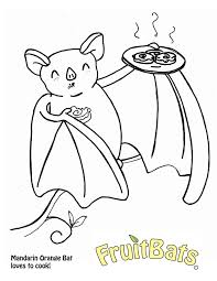mandarin orange coloring page fruitbats u0026 company