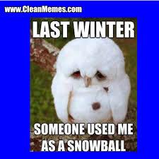Memes About Winter - last winter clean memes