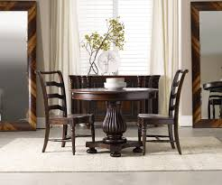Wooden Round Dining Table Designs Engaging Decorating Ideas Using Silver Single Hole Faucets And