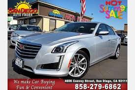 cadillac cts for sale 5000 used cadillac cts for sale in san diego ca edmunds