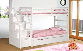 Bunk Bed With Steps Surprising Bunk Beds With Trundle And Drawers Photos Furniture