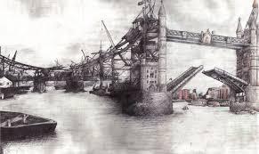 tower bridge biro sketch by sjha ha on deviantart