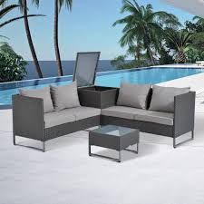 patio outsunny patio furniture reviews wooden outdoor furniture