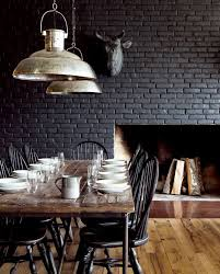 Dark Interior Design Best 25 Black Brick Wall Ideas On Pinterest Black Brick