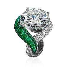rings emerald images Folies emerald and diamond ring de grisogono the jewellery editor jpg