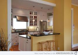 Kitchen Yellow Walls - 15 yellow modular kitchen ideas home design lover
