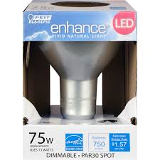 750 lumen 3000k high cri led par30 spot feit electric
