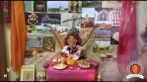 Home Ganpati Decoration Vinayak Vangapalli Home Ganpati Decoration Video U0026 Ideas Www