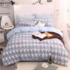 Blue Bed Set Online Get Cheap Blue White Bedding Sets Aliexpress Com Alibaba
