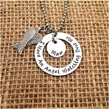 remembrance charms personalized sted necklace i an angel