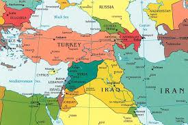Europe Middle East Map by Blank Map Of Middle East And Europe Special Offers