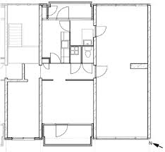 right top corner floor plan of the right top corner apartment of the case study