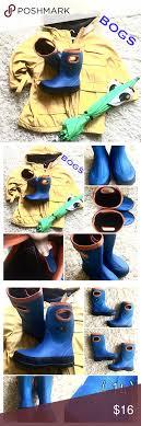 bogs s boots size 12 bogs boys boots size 12 blue orange blue orange