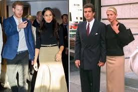 carolyn bessette kennedy meghan markle u0027s first outing inspired by carolyn bessette