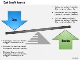 cost benefit analysis powerpoint template new cost benefit