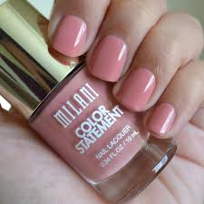 milani cosmetics color statement nail lacquers 2 shades