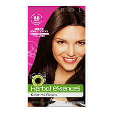 Pretty Colors To Dye Your Hair Amazon Com Clairol Herbal Essence Color 062 Foxy Brown Medium