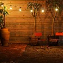 Backyard String Lighting by Best 25 Contemporary Outdoor String Lights Ideas On Pinterest