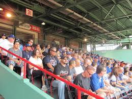 Fenway Park Seating Map Dodger Fans At Fenway Park Dodger Blue World