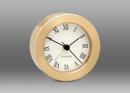 desk alarm clock chelsea round desk alarm brass la pendulerie ca