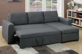 Sofa Bed Collection Sectional Sofa Pull Out Bed Convertible Fabric 2 Piece Sectional