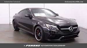 mercedes coupe c class 2018 mercedes amg c 63 s coupe at schumacher european