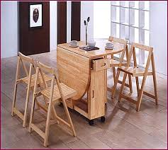 drop leaf table with folding chairs stored inside tables with chairs stored inside amazing of folding table with chair
